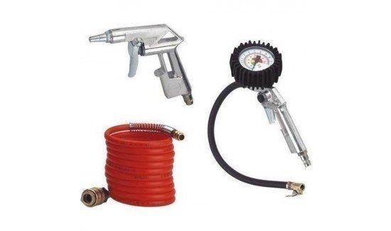Набір пневмоінструментів для накачування коліс Einhell, 3 предмети фото
