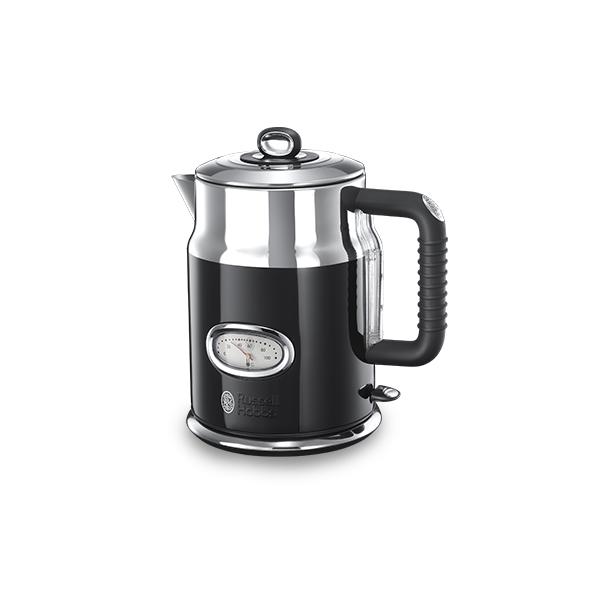 Купить Электрический чайник Russell Hobbs 21671-70 Retro Black