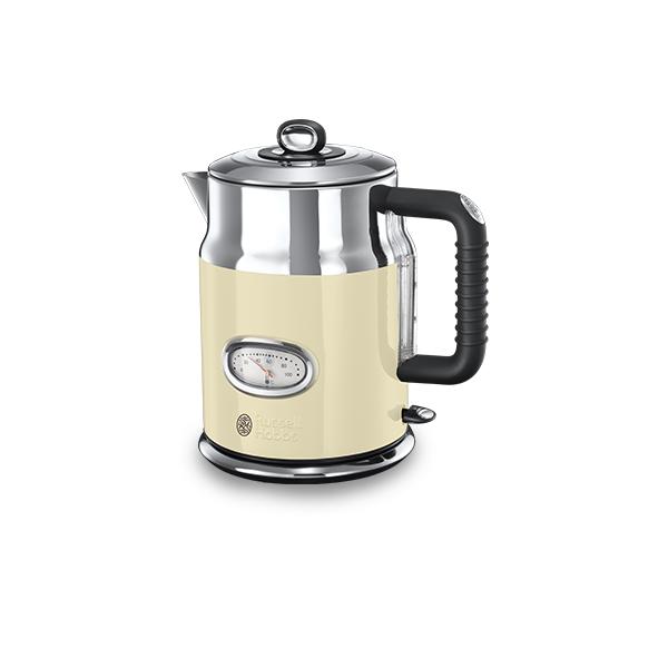 Купить Электрический чайник Russell Hobbs 21672-70 Retro Cream
