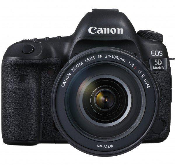 Купить Фотоаппарат CANON EOS 5D Mark IV 24-105mm F/4 L IS II USM (1483C030)