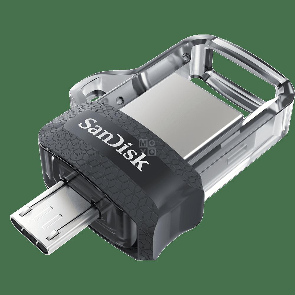 Накопичувач USB 3.0 SANDISK Ultra Dual Drive m3.0 64GB OTG (SDDD3-064G-G46) фото