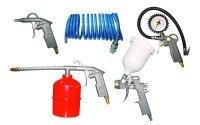 Набор лакокрасочных пневмоинструментов Sigma 5 предметов (6791021)