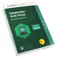 Антивирус Kaspersky Anti-Virus 2017 1 ПК 1 год + 3 месяца Box (KL1171OBAFS)