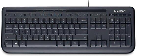 Купить Клавиатуры, Клавиатура Microsoft Wired 600 Black Ru Ret (ANB-00018)