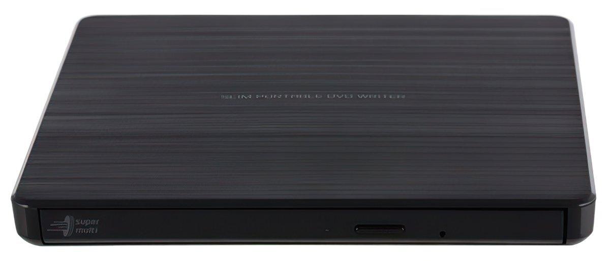 Внешний оптический привод LG GP60NB60 DVD+-R/RW USB2.0 EXT Ret Ultra Slim Black фото