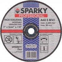 Отрезной круг по металлу и нерж. стали Sparky 125x1.6
