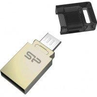 Накопичувач USB 2.0 SILICON POWER USB Mobile X10 32GB OTG (SP032GBUF2X10V1C)