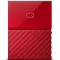 Жесткий диск WD USB3.0 1TB My Passport Red (WDBYNN0010BRD-WESN)
