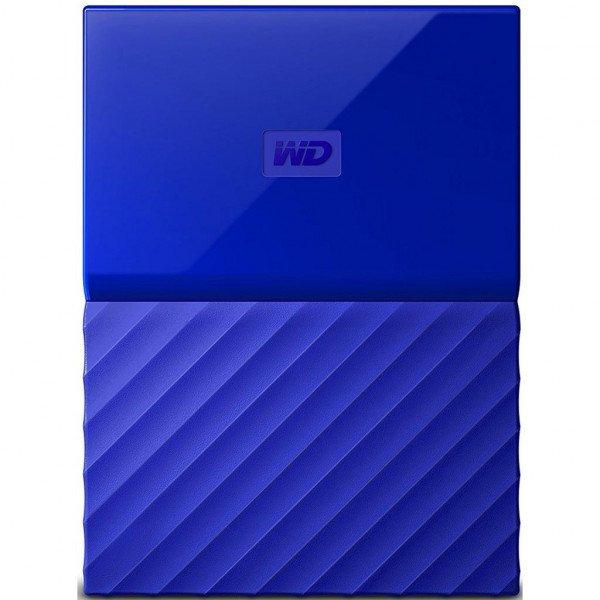 Купить Жесткий диск WD USB3.0 1TB My Passport Blue (WDBYNN0010BBL-WESN)