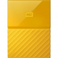 Жесткий диск WD USB3.0 1TB My Passport Yellow (WDBYNN0010BYL-WESN)