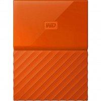 Жесткий диск WD USB3.0 1TB My Passport Orange (WDBYNN0010BOR-WESN)
