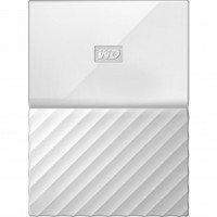 Жесткий диск WD USB3.0 1TB My Passport White (WDBYNN0010BWT-WESN)