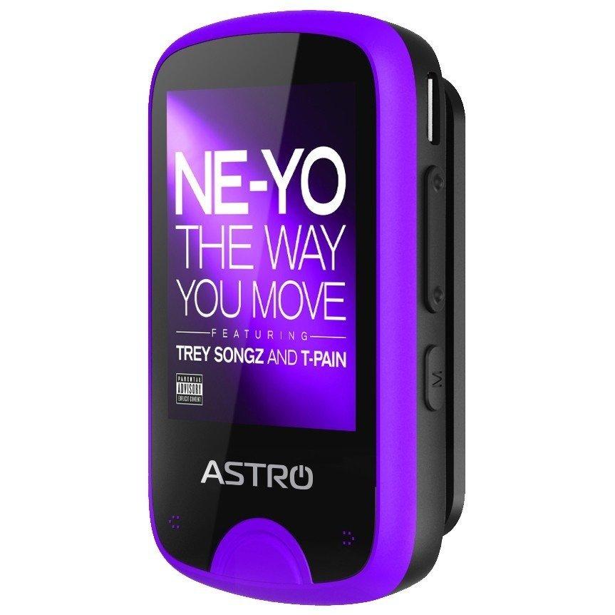 Мультимедіаплеєр ASTRO M5 8GB Black/Purple фото1
