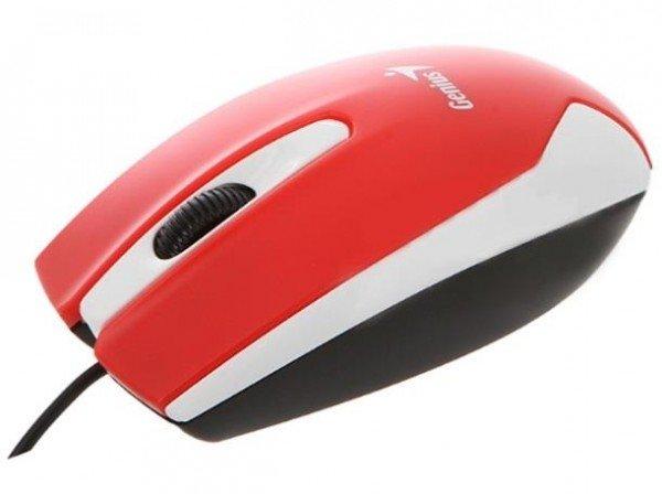 Купить Мышь Genius DX-100X USB Red (31010229101)