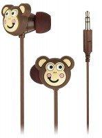 Навушники Doodles In-Ear Monkey