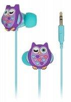 Навушники Doodles In-Ear Purple Owl
