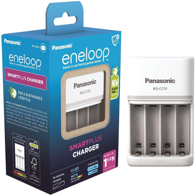Зарядний пристрій Panasonic Smart-Quick Charger (BQ-CC55E)фото