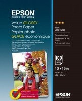 Бумага Epson 100mmx150mm Value Glossy Photo Paper 100 л. (C13S400039)