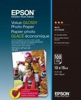 Бумага Epson 100mmx150mm Value Glossy Photo Paper 100 л. (C13S400039)