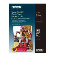 Бумага Epson A4 Value Glossy Photo Paper 50 л (C13S400036)