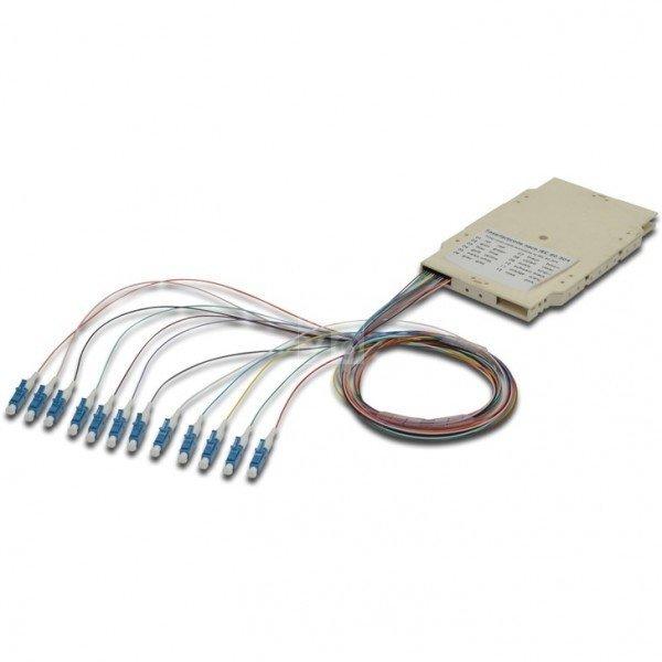 Купить Сплайс-кассета Digitus, 12 пигтейлов LC (UPC) 9/125 SM LSZH в компл.