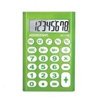 Калькулятор ASSISTANT AC-1116 green (AC-1116 green)