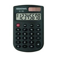 Калькулятор ASSISTANT AC-1109 Black (AC-1109 Black)