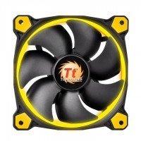 Вентилятор для корпусу Thermaltake Riing 12 Yellow LED (CL-F038-PL12YL-A)