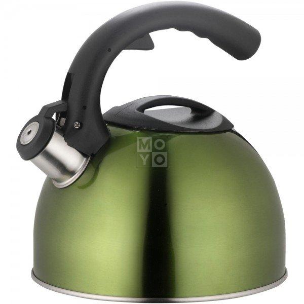 Чайник Lamart из нержавейки зеленый 3л (LT7002)