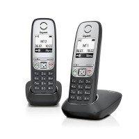 Телефон Dect Gigaset A415 DUO Black