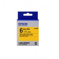 Лента Epson LK2YBP для принтеров LW-300/400/400VP/700 Pastel Blk/Yell 6mm/9m