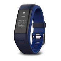 Смарт-часы Garmin vivosmart HR+,GPS, WW, Blue, Regular