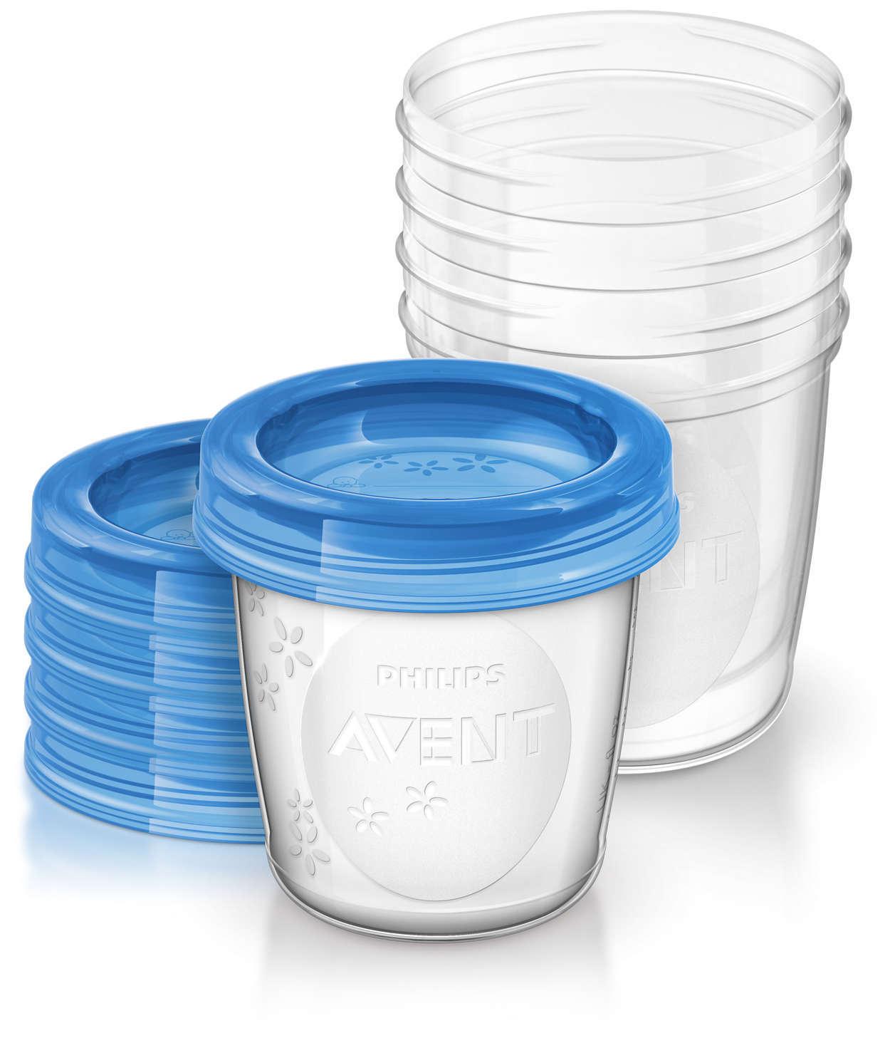 Контейнеры для хранения грудного молока AVENT (SCF619/05) фото 1