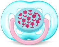 Пустышка Avent 6-18 мес. для девочек 1шт (SCF172/15)