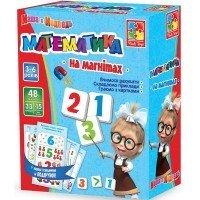 Настольная игра Vladi Toys Математика на магнитах укр.яз. (VT3305-04)