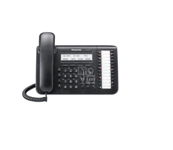 Купить Системные телефоны, Системный телефон Panasonic KX-DT543RU Black (цифровой) для АТС Panasonic