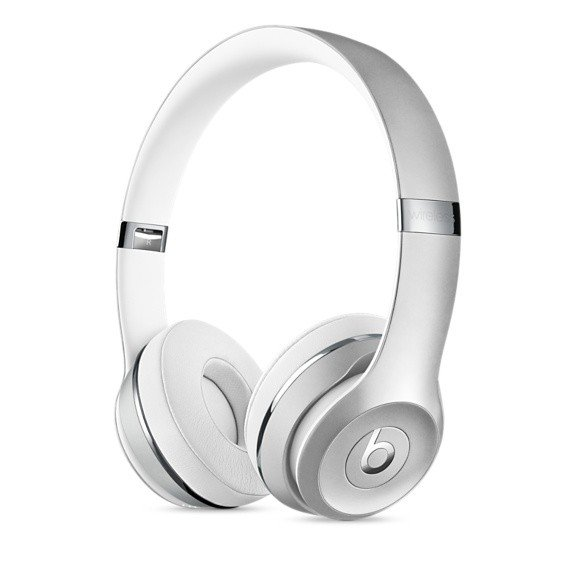 Купить Наушники Beats Solo3 Wireless Silver (MNEQ2ZM/A)