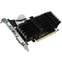 Відеокарта GIGABYTE GeForce GT 710 1GB DDR3 Low Profile Silent (GV-N710SL-1GL)