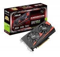 Відеокарта ASUS GeForce GTX 1050 2GB GDDR5 OC ExpEdiTIon (EX-GTX1050-O2G)