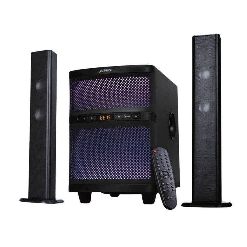 Акустична система 2.1 F&D T-200X Blackфото1