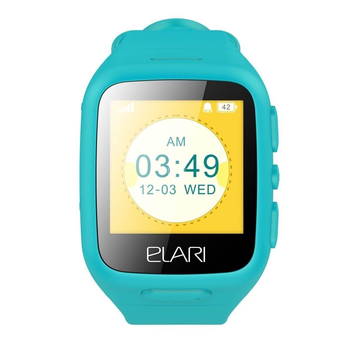 Детские смарт-часы Elari KidPhone Blue с LBS-трекером и цветным дисплеем (KP c8f55a24863aa