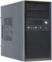 Корпус ПК CHIEFTEC Mesh CT-01B с БП CHIEFTEC iArena GPA-400S8 400Вт черный (CT-01B-400S8)