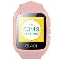 Детские смарт-часы Elari KidPhone Pink с LBS-трекером и цветным дисплеем (KP-1PK)