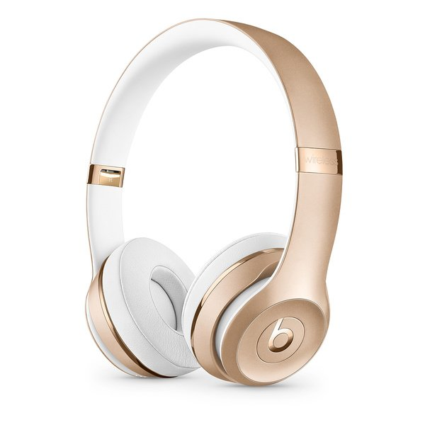 Купить Наушники Beats Solo3 Wireless Gold (MNER2ZM/A)