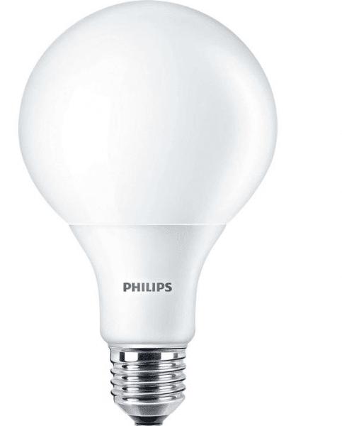 Купить Лампа светодиодная Philips LEDGlobe E27 11.5-85W 230V 2700K G120, PHILIPS LFD
