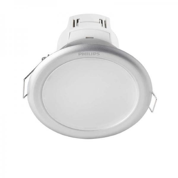 Купить Светильник точечный встраиваемый Philips 66022 LED 6.5W 4000K Silver, PHILIPS LFD