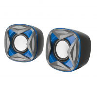 Акустическая система 2.0 Trust Xilo Compact Blue (6268439)