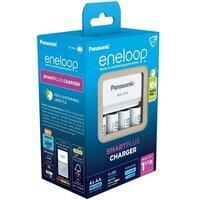 Зарядний пристрій Panasonic Smart-Quick Charger + Eneloop 4AA 1900 mAh NI-MH (K-KJ55MCC40E)