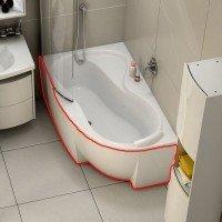 Панель для ванны Ravak ROSA 95 L 160 (CZ57100A00)