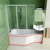 Панель для ванны Ravak BE HAPPY 150 R фронтальная (CZ15100A00)